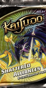 Kaijudo Trading Card Game Shattered Alliance Booster Pack