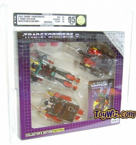 Transformers Takara e-Hobby Shop Diaclone Insecticon Set  AFA Graded 95