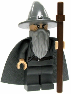 LEGO Lord of the Rings LOOSE Mini Figure Gandalf the Gray  [Hat & Cloak]