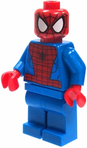LEGO Marvel Super Heroes LOOSE Complete Minifigure Spider-Man