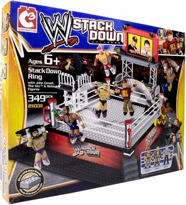 C3 WWE Wrestling StackDown Set #21031 StackDown Ring