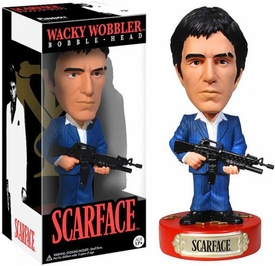 Scarface  Wacky Wobbler Bobble Head Tony Montana Pre-Order ships April