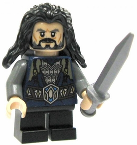 LEGO Hobbit LOOSE Mini Figure Thorin Oakenshield King Under the Mountain
