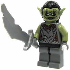 LEGO Lord of the Rings LOOSE Mini Figure Orc of Moria with Scimitar