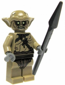 LEGO Hobbit LOOSE Mini Figure Goblin Soldier with Spear