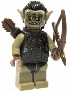 LEGO Hobbit LOOSE Mini Figure Hunter Orc