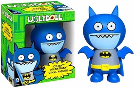 Funko Uglydoll x DC Comics Vinyl Figuree Ice-Bat Batman  New!