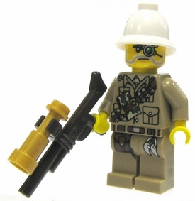 LEGO Ninjago LOOSE Mini Figure Major Quinton Steele