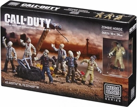 Call of Duty Mega Bloks Set #06826 Zombie Horde