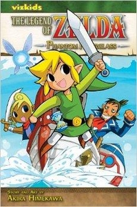 Legend of Zelda Manga Phantom Hourglass