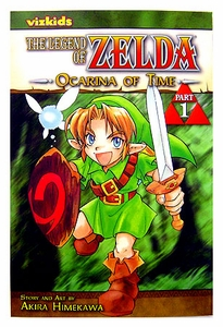 Legend of Zelda Manga Ocarina of Time Manga Part 1