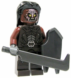 LEGO Lord of the Rings LOOSE Mini Figure Uruk-hai Skirmisher [Scimitar & Shield]
