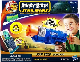 Angry Birds STAR WARS Koosh Ball Han Solo Launcher