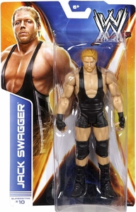 Mattel WWE Wrestling Basic Series 36 Action Figure #10 Jack Swagger New!