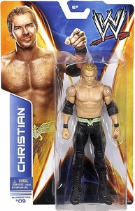 Mattel WWE Wrestling Basic Series 36 Action Figure #09 Christian