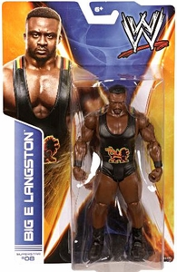 Mattel WWE Wrestling Basic Series 36 Action Figure #08 Big E Langston