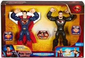 Man of Steel Movie Powers of Krypton Exclusive Action Figure 2-Pack Superman VS General Zod [Final Battle]