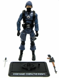 GI Joe 3 3/4 Inch LOOSE Action Figure Cobra Enemy [Version 3]