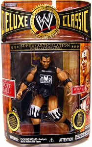 WWE Jakks Pacific Wrestling Exclusive Deluxe Classic Superstars Series 3 Action Figure Scott Hall [NWO]