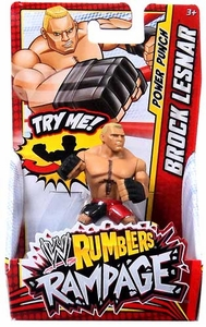 WWE Wrestling Rumblers Rampage Mini Figure Brock Lesnar [Power Punch]