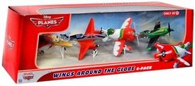 Disney PLANES Exclusive 1:55 Die Cast 4-Pack Wings Around the Globe [Ishani, Bulldog, El Chupacabra & Ripslinger]
