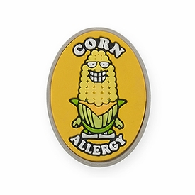 Corn Allergy Alert Charm