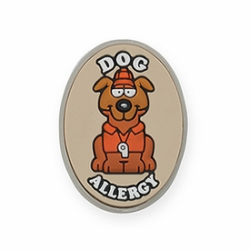 Dog Allergy Alert Charm