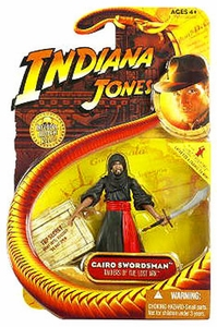 Indiana Jones Movie Hasbro Series 1 Action Figure Cairo Swordsman[Raiders of the Lost Ark]