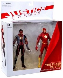 DC Collectibles New 52 Action Figure 2-Pack Flash & Vibe