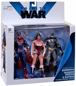 DC Collectibles New 52 Action Figure 3-Pack Trinity War [Superman, Wonder Woman & Batman]