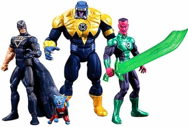DC Collectibles Green Lantern 2013 SDCC San Diego Comic-Con Exclusive Action Figure 4-Pack Black Hand, Dex-Starr, Arkillo & Sinestro (Coming Soon)