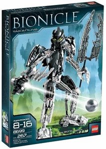 LEGO Bionicle Set #8699 Takanuva Damaged Package, Mint Contents!