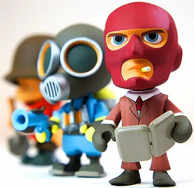 Team Fortress 2 Mini Figure Mystery Pack [1 Random Figure]