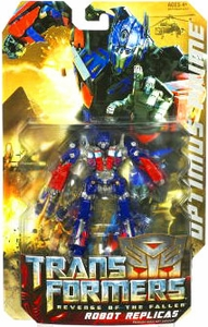 Transformers 2: Revenge of the Fallen Robot Replicas Super-Articulated Action Figure Optimus Prime
