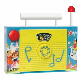 Basic Fun Fisher-Price Retro TV Radio