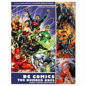 DC Comics The Number Ones Comic Cover Portfolio Set