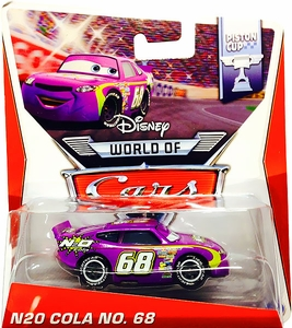 Disney / Pixar CARS Movie 1:55 Die Cast Car MAINLINE World of Cars N20 Cola No. 68 [Piston Cup 2/16]