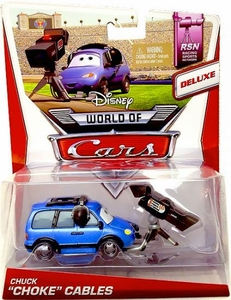 Disney / Pixar CARS Movie 1:55 Die Cast Car Deluxe World of Cars Chuck Choke Cables [RSN #4/8]