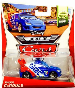 Disney / Pixar CARS MAINLINE 1:55 Die Cast Car Raoul Caroule [WGP 2/15]