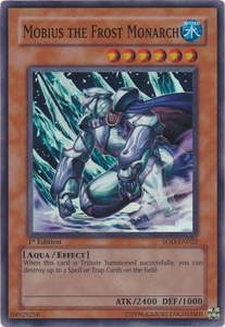 YuGiOh Soul of the Duelist Super Rare Single Card SOD-EN022 Mobius the Frost Monarch