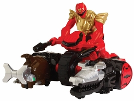Power Rangers Megaforce Vehicle & Figure Ultra Red Ranger & Zord