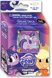 My Little Pony Enterplay Collectible Card Game Twilight Sparkle & Applejack Premiere Theme Deck [59 Cards]