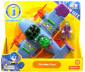 Imaginext DC Gotham City Collection Exclusive Vehicle The Joker Plane