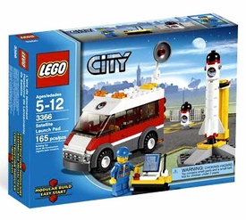 LEGO City Set #3366 Satellite Launch Pad