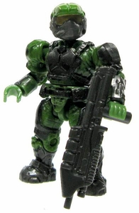 Halo Wars Mega Bloks LOOSE Mini Figure UNSC Green Marine with Assault Rifle