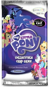 My Little Pony Enterplay Collectible Card Game Premiere Booster Pack [12 Cards]