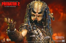 Predator 2 Hot Toys Movie Masterpiece 14 Inch Figure Elder Predator Pre-Order ships July
