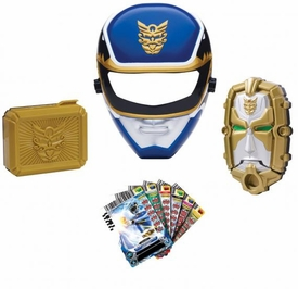 Power Rangers Megaforce Blue Ranger Training Gear [Mask, Gosei Morpher, Card Holder Buckle & 6 Power Cards]