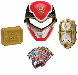 Power Rangers Megaforce Red Ranger Training Gear [Mask, Gosei Morpher, Card Holder Buckle & 6 Power Cards]