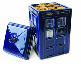 Doctor Who Tardis Ceramic Cookie Jar Pre-Order ships October